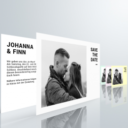 Stockholm Save The Date Postkarte - DIN A6 quer