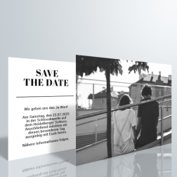 Palma Save The Date Postkarte - DIN A6 quer